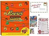 Reese's Adventskalender Süßigkeiten Luxus Großer 347-Gramm-Behälter mit Weihnachtsbuch zu Farbe & Puzzle und 25 Offizieller Elfenbericht, 2018