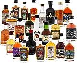 Rum Adventskalender Rot 1 Stück (24 x 0,05 Liter original Miniaturen)
