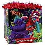 Trolls Adventskalender mit echten Schminkartikeln und Accessoires