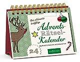 Der ultimativ knifflige Advents-Rätsel-Kalender: 24 x Ratespaß bis Weihnachten (Adventskalender)