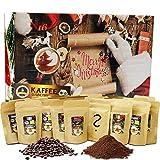C&T Kaffee Adventskalender 2020 (Ganze Bohnen) | 24 à 25g Bio Kaffees & fair gehandelte Raritäten + Überraschung im Kalender | Weihnachtskalender Fairtrade
