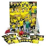 Exklusiver BVB-Comic-Adventskalender – Der lustige Weihnachts-Countdown aus Fairtrade-Kakao mit Autogrammkarten und Fanshop-Gutschein plus versch. Gewinnmöglichkeiten (200 g) (Borussia Dortmund)
