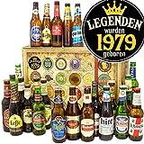 Legenden 1979 - Biersorten der Welt - Geschenk für Mann Geburtstag - Bier Adventskalender Männer