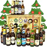 Bier Adventskalender Welt und Deutschland - mit Tiger + Saigon + Kulmbacher + mehr - Biersorten aus aller WELT & DEUTSCHLAND - Bieradventskalender 2019 - Weihnachtsgeschenke Bier Männer