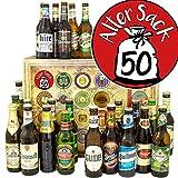 Alter Sack 50 ++ Bier aus aller Welt und D 24x ++ Geschenkidee Herr 50 / Bier Adventskalender