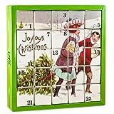 English Tea Shop - Nostalgie Tee Adventskalender 'Joyous', 25 einzelne Boxen mit würzigen BIO-Tees in hochwertigen Pyramiden-Teebeutel