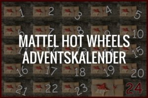 Mattel Hot Wheels Adventskalender