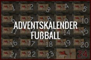 Adventskalender Fußball