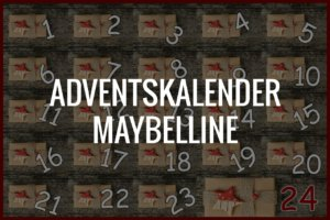 Adventskalender Maybelline